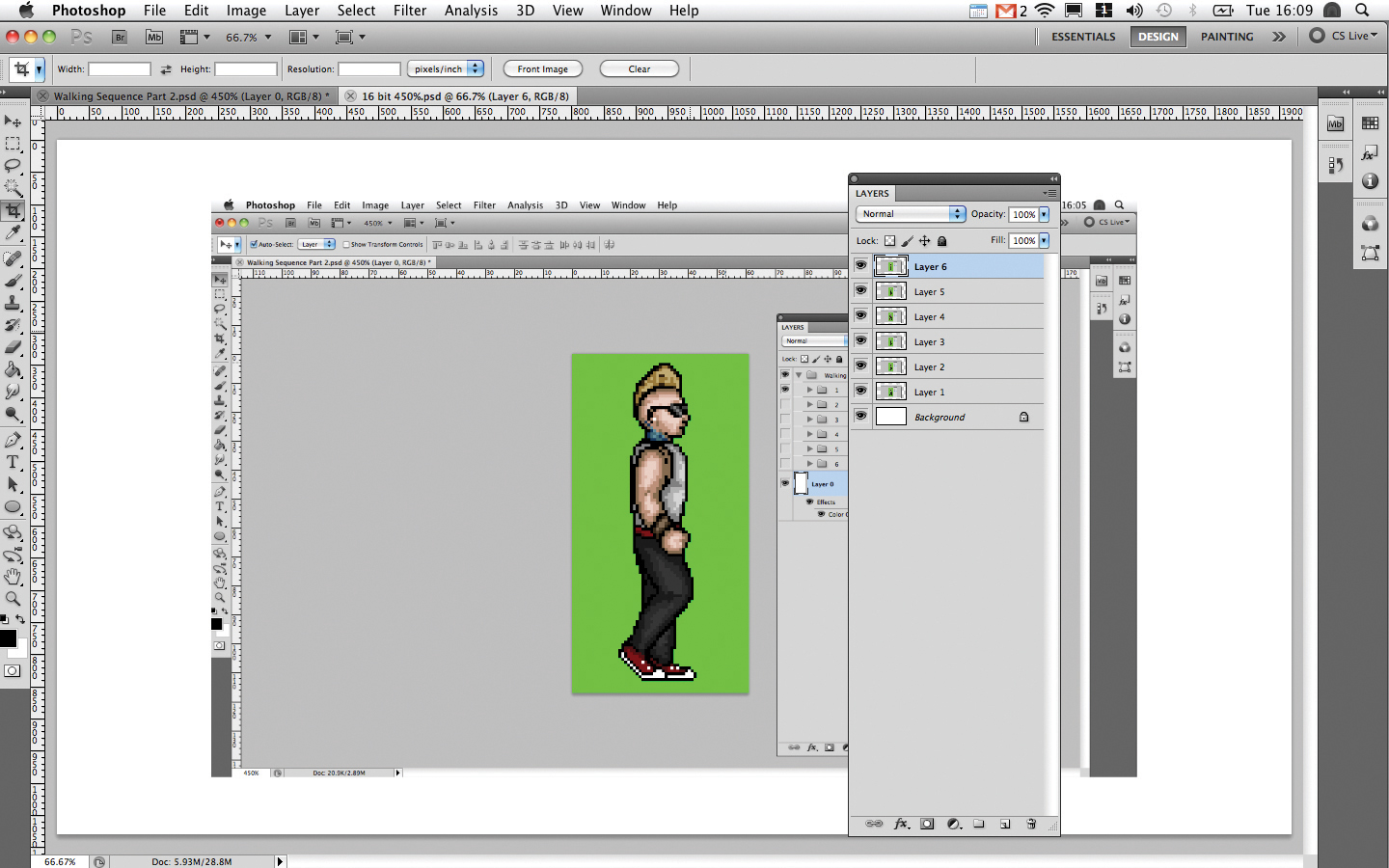 After Effects tutorial: Animate a 16-bit game character