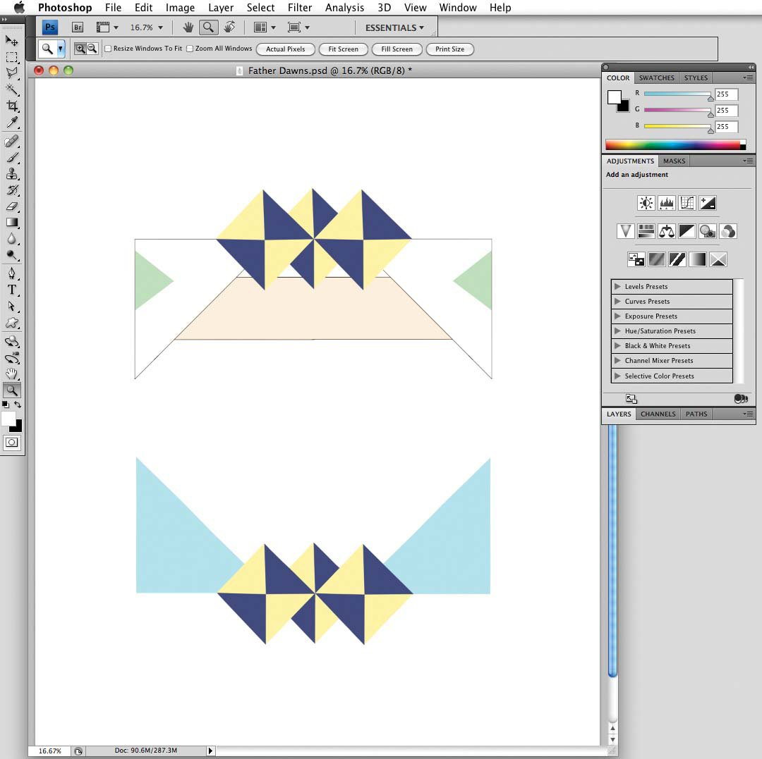 Photoshop tutorial: Fuse photography and geometry - Digital Arts