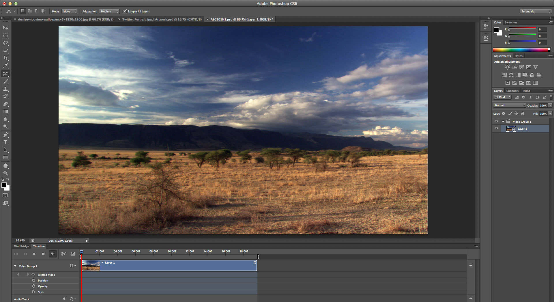 Photoshop tutorial: Video editing inside Photoshop CS6 step