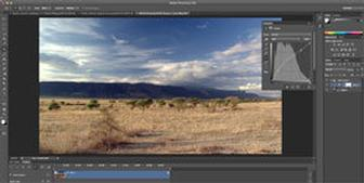 Video editing inside Photoshop CS6 step-by-step