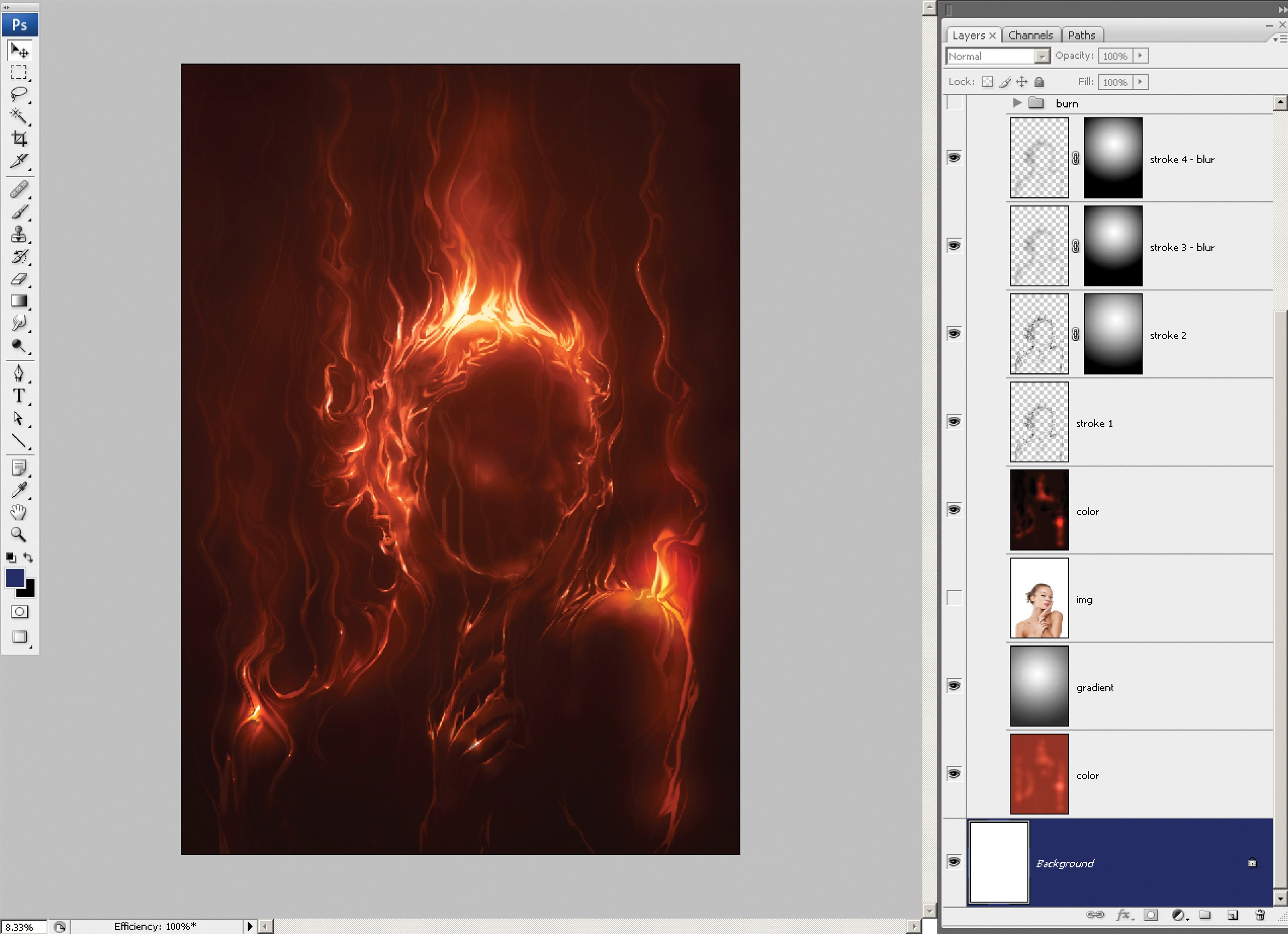 Photoshop tutorial: How to create fire in Photoshop - Digital Arts