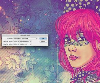 how to use actions in adobe photoshop cs6