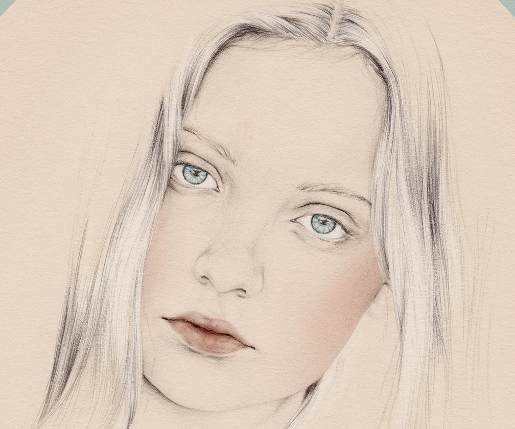 Digitally colour a delicate, beautiful portrait in Photoshop