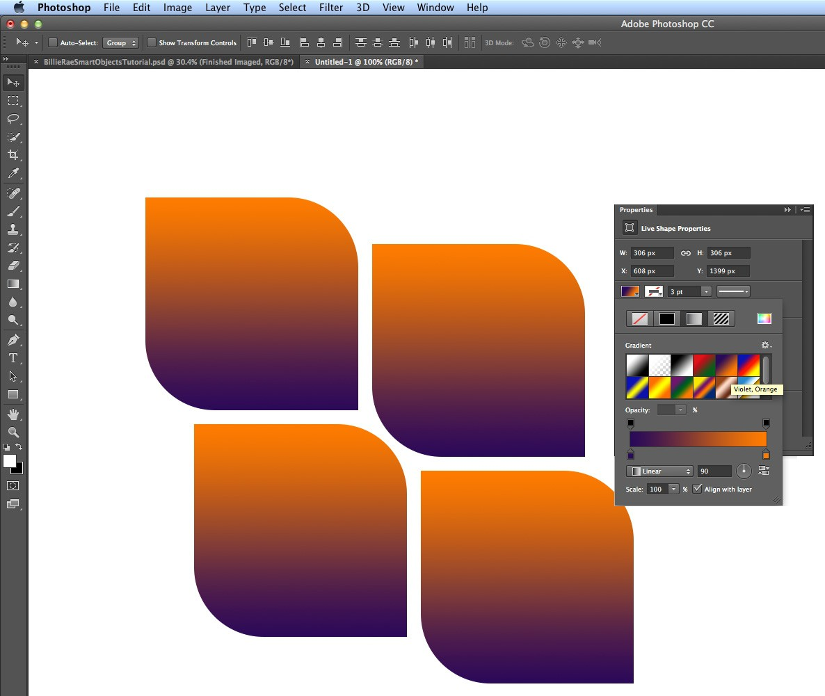 Photoshop Tutorial How To Use Photoshop Cc S New Shapes Tools Digital Arts
