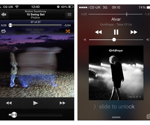 iOS 6 vs iOS 7 app comparison guide: see how the designs have changed