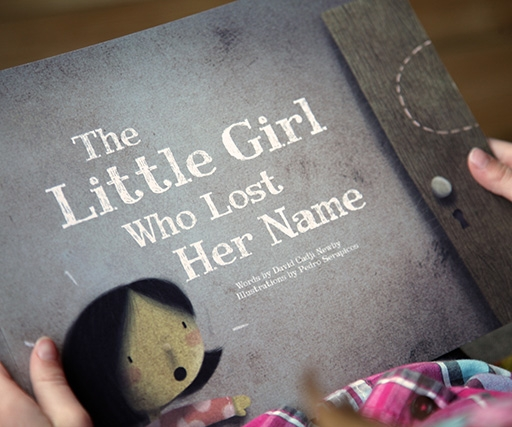 Lostmy.name's illustrated children's books are different for every child