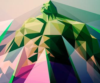 12 geometric vector art tips