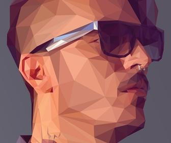 How to create a low-poly portrait