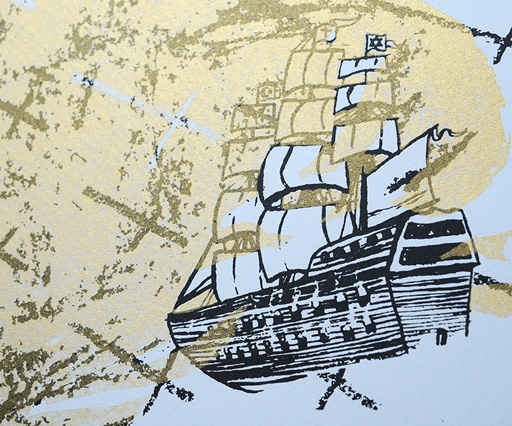Ahoy! Set sail to a nautical exhibition by the Drawn Chorus Collective