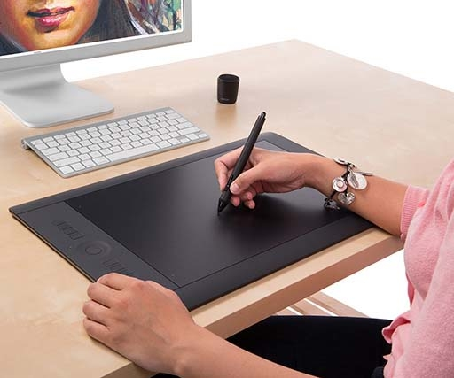 How to use a Wacom tablet with Photoshop