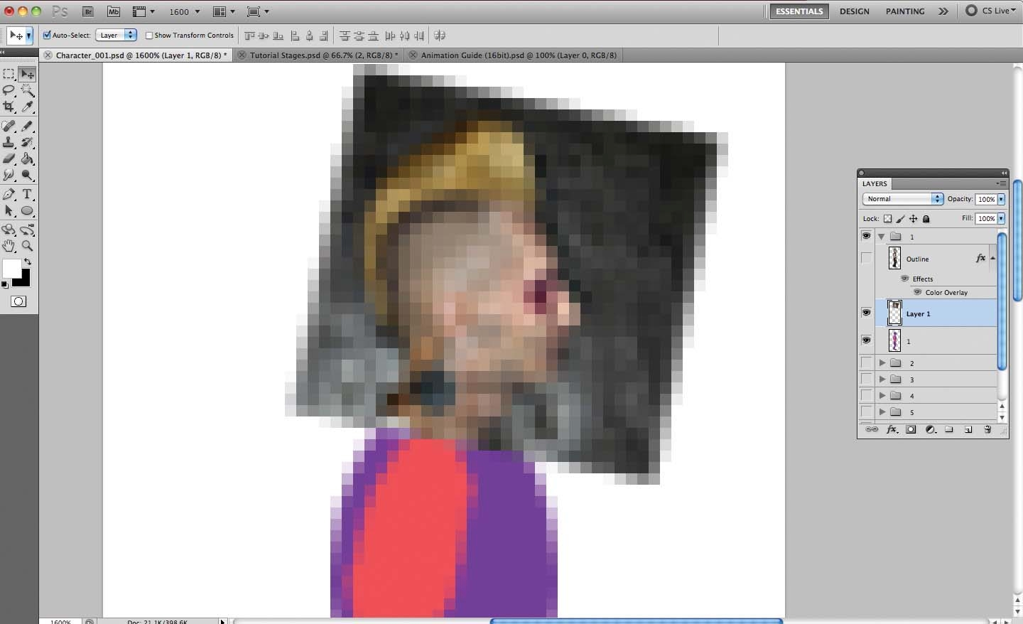 Photoshop tutorial: How to make 16-bit art in Photoshop
