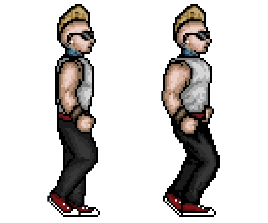 How to make 16-bit art in Photoshop