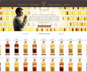 Purple Creative designs responsive whisky website to create-your-own rare Glenfiddich
