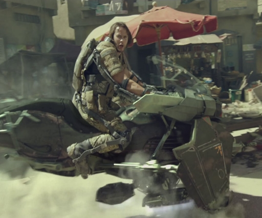 See behind the scenes of the explosive Call of Duty:Advanced Warfare promo