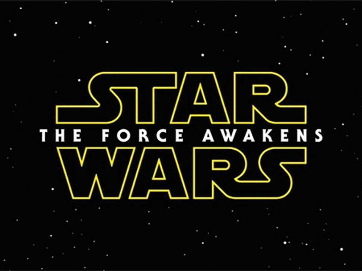 What's the font in the Star Wars: The Force Awakens logo