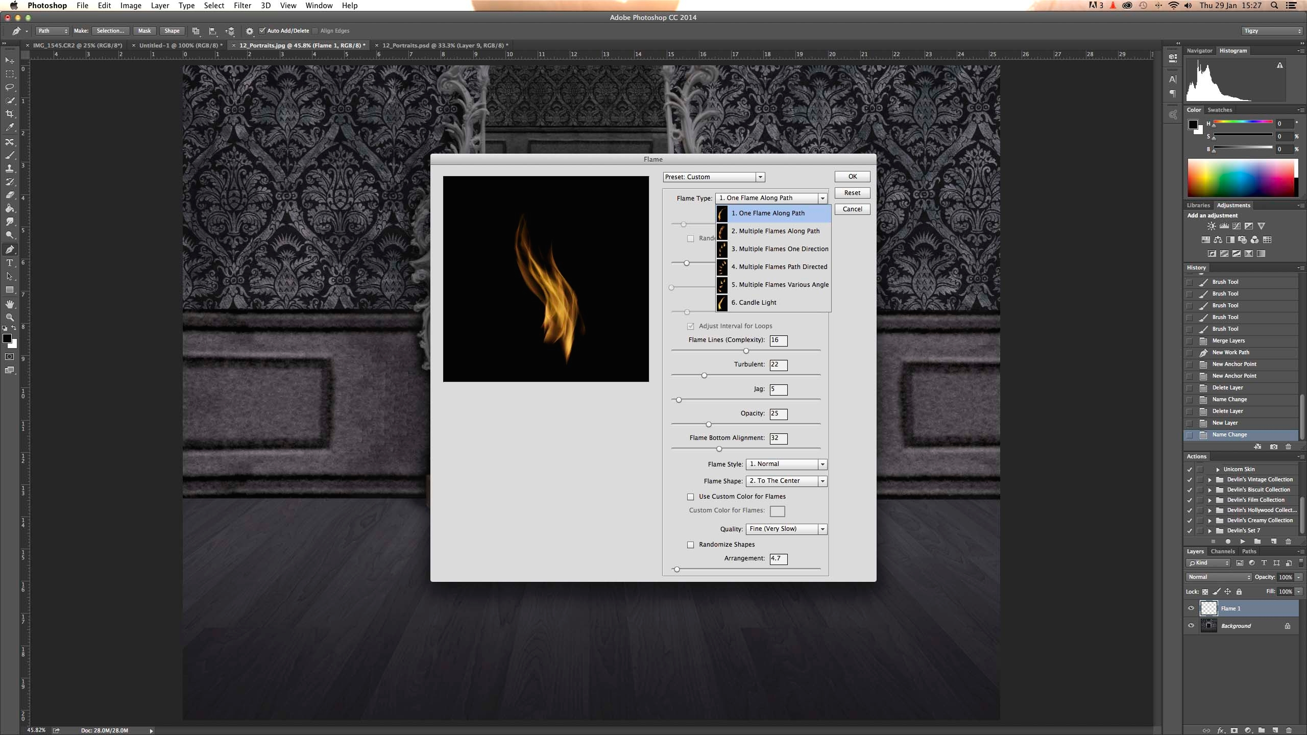 Photoshop tutorial: How to make fire in Photoshop - Digital Arts