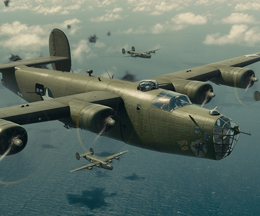How Rodeo FX created photorealistic WW2 planes for Angelina Jolie's Unbroken