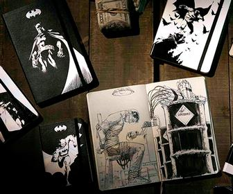 Moleskine's Batman notebooks: Give your notes and sketches some Kapow