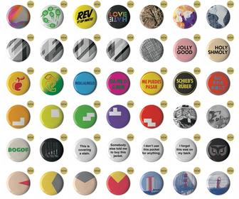 Browse Stereohype's entire button badge range on revamped site