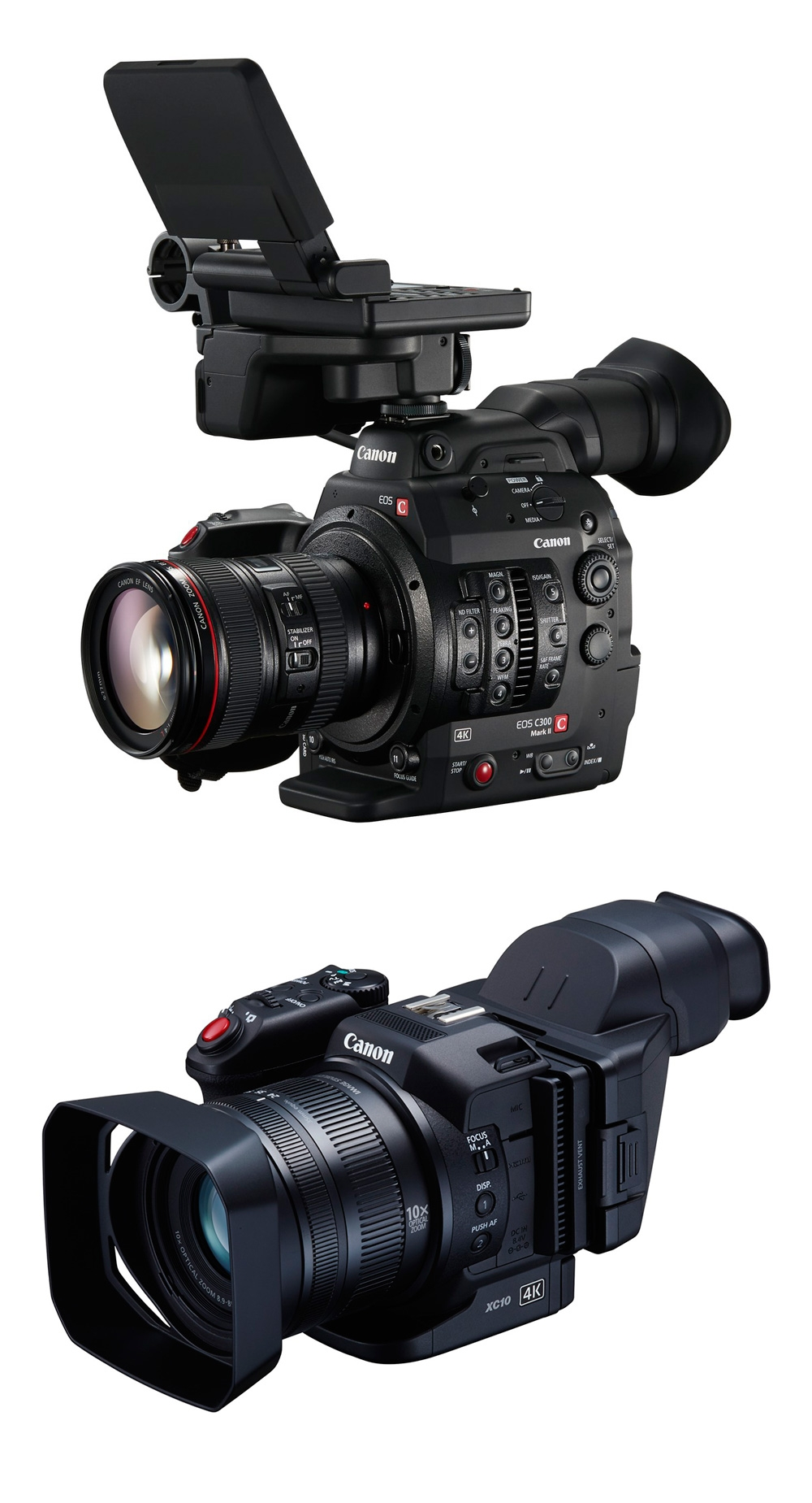 Canon EOS C300 Mark II and XC10: new 4K cameras debut - Digital Arts