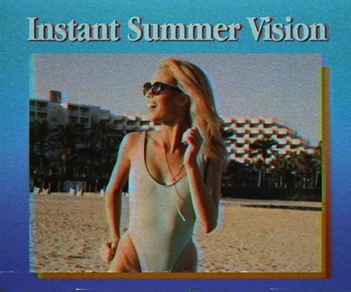 VHS-shot Tens ad promotes filter sunglasses as 'like an Instagram for your face'