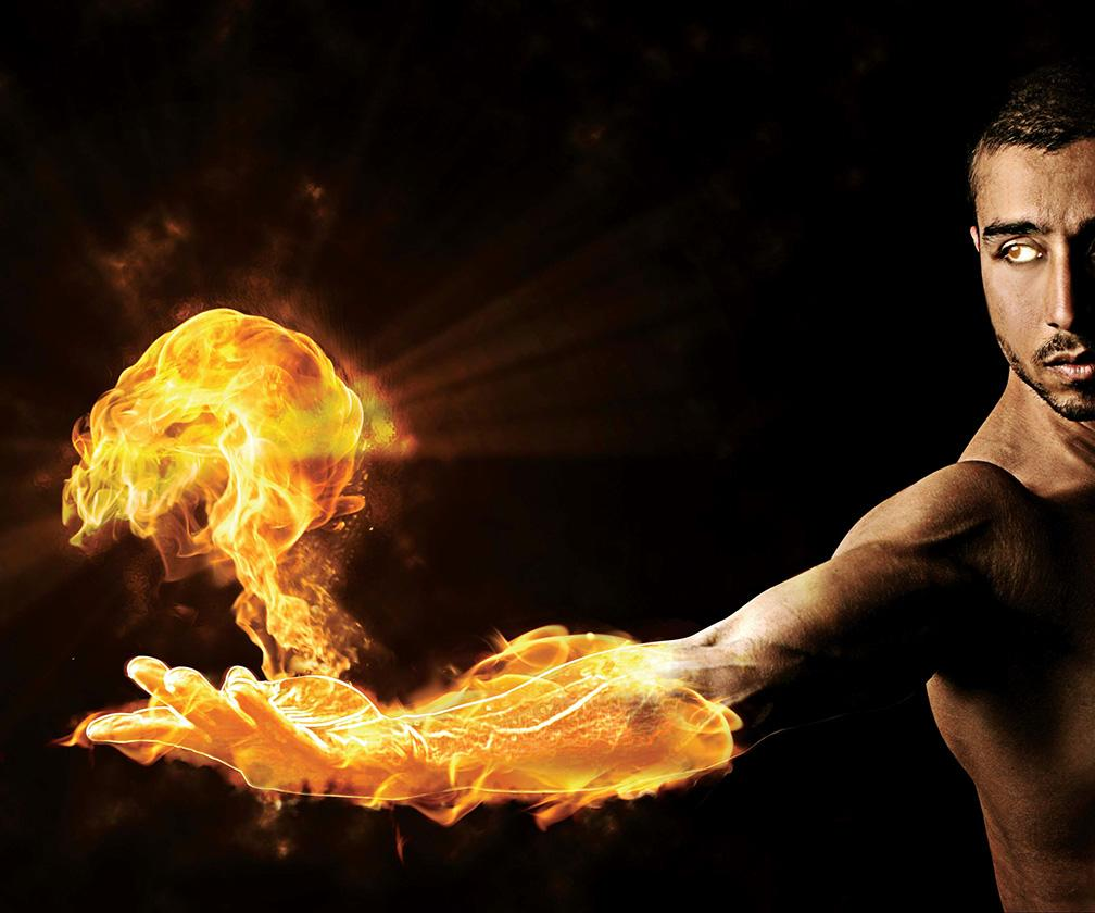 How to create fire effect in Photoshop