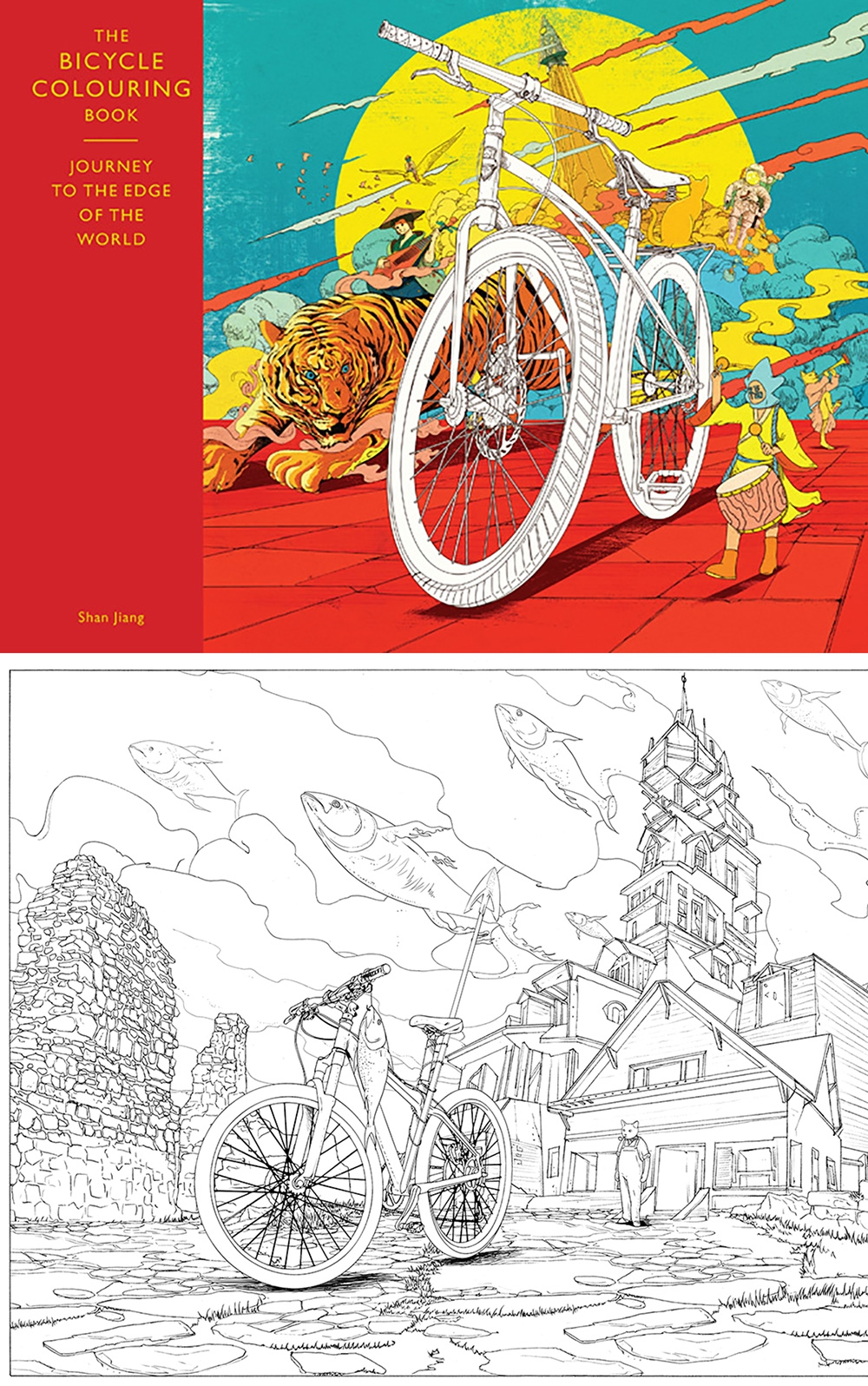 18 best colouring in Books for Adults - Digital Arts