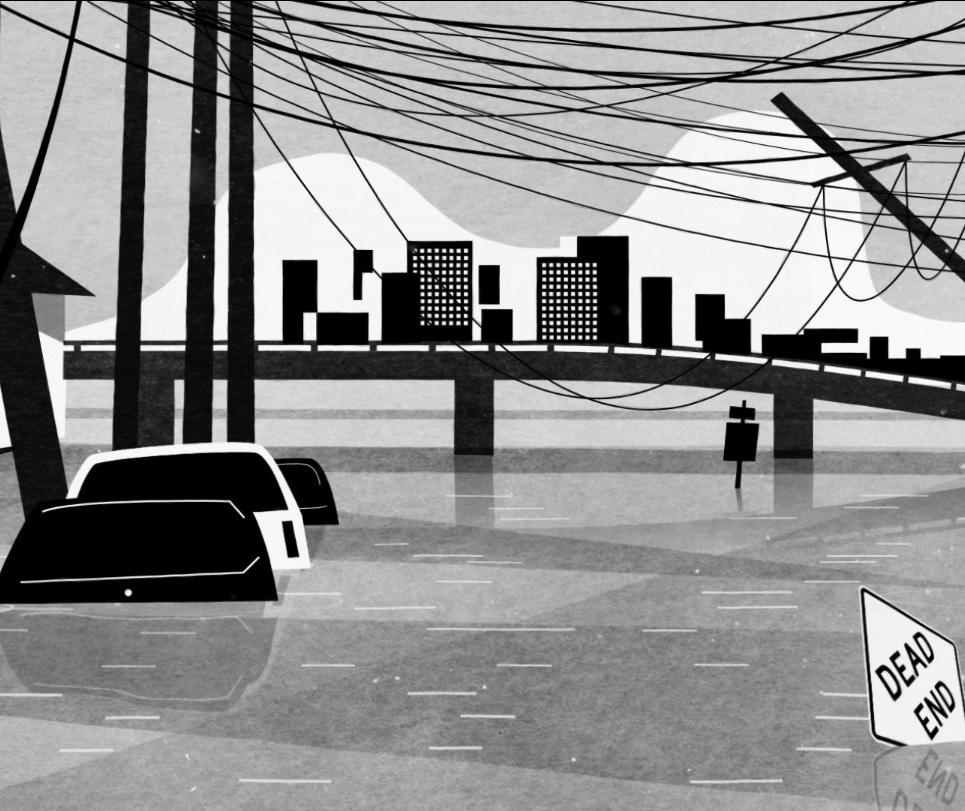 Watch this animated minute's silence to commemorate Hurricane Katrina