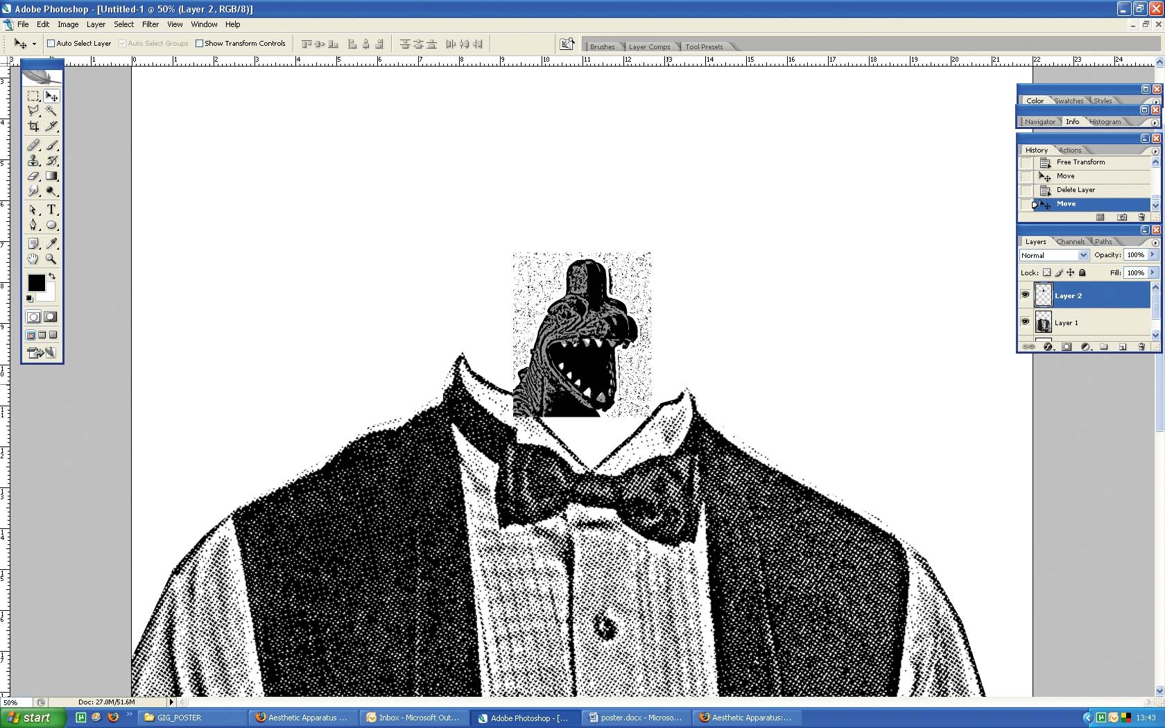 Photoshop tutorial: How to create a screen print effect in
