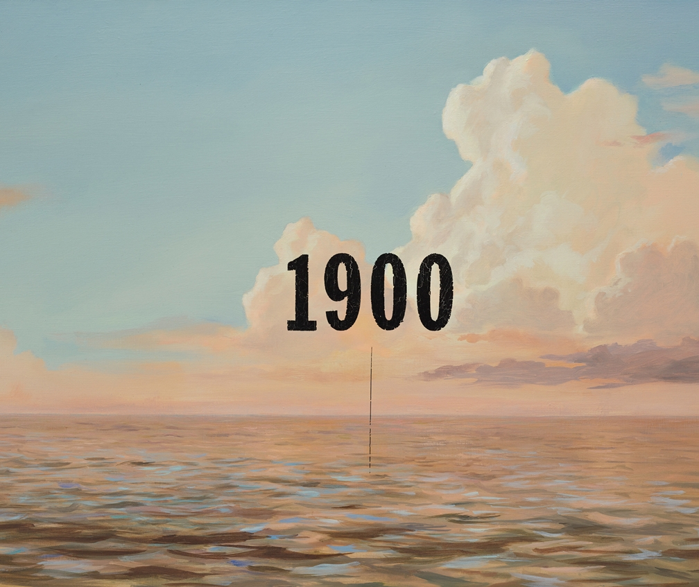 Oliver Jeffers latest exhibition showcases his Seascape and Landscape paintings for adults