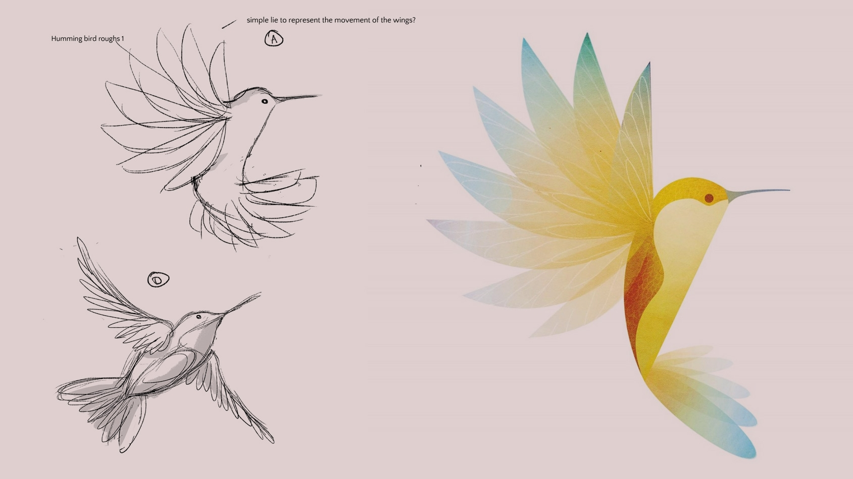 How to draw birds 18 tips for both hand drawn and vector illustration digital arts