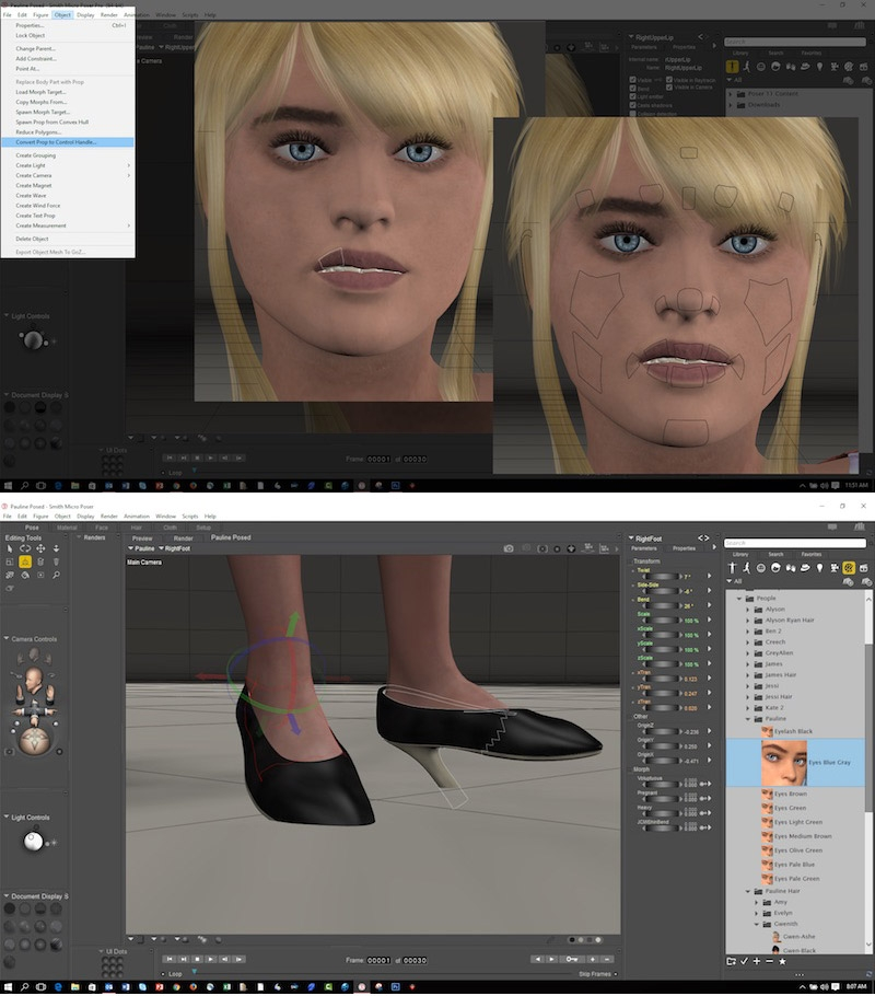 Poser 11 resurrects the character-led modelling and