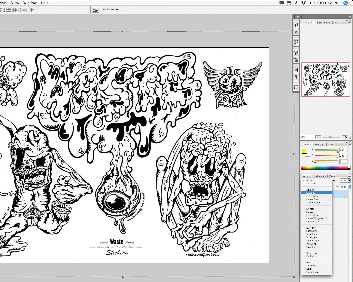 Photoshop tutorial: How to design stickers in Photoshop