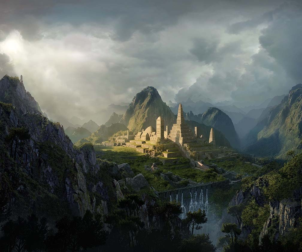 How to create a matte painting in Photoshop