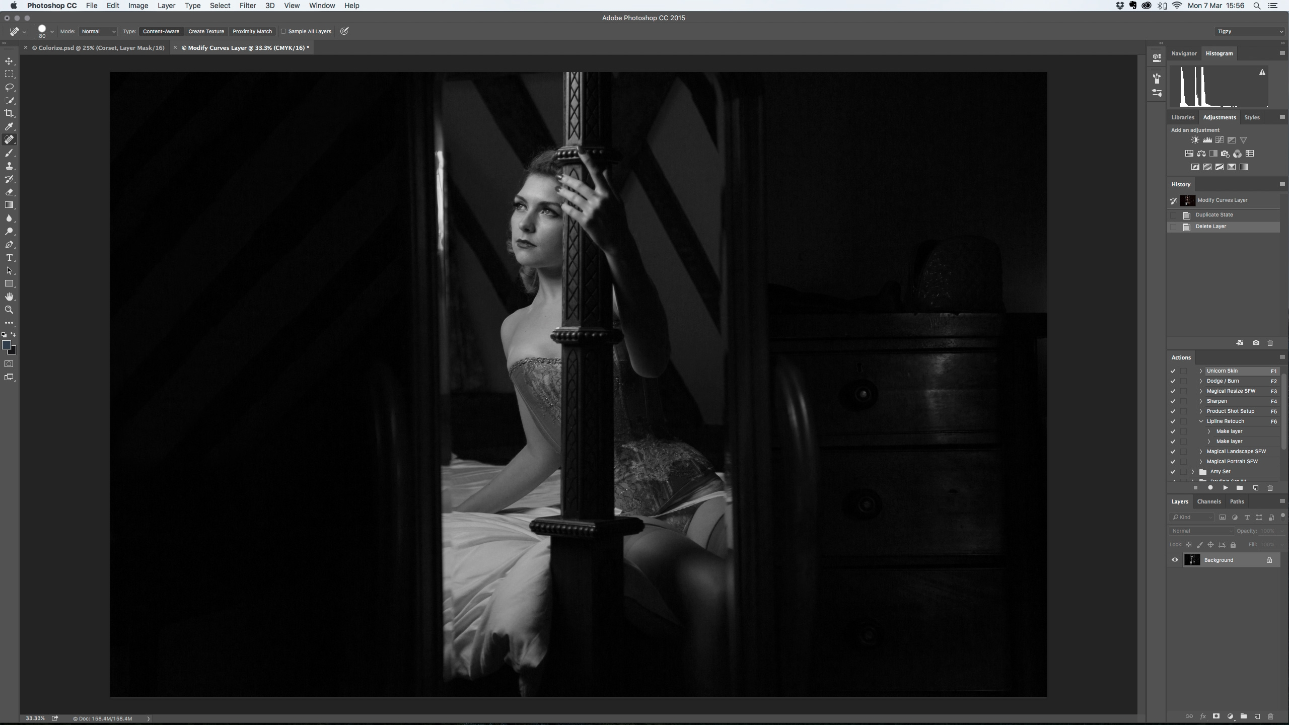 Photoshop Tutorial How To Colourise A Black And White Photo In Photoshop Digital Arts