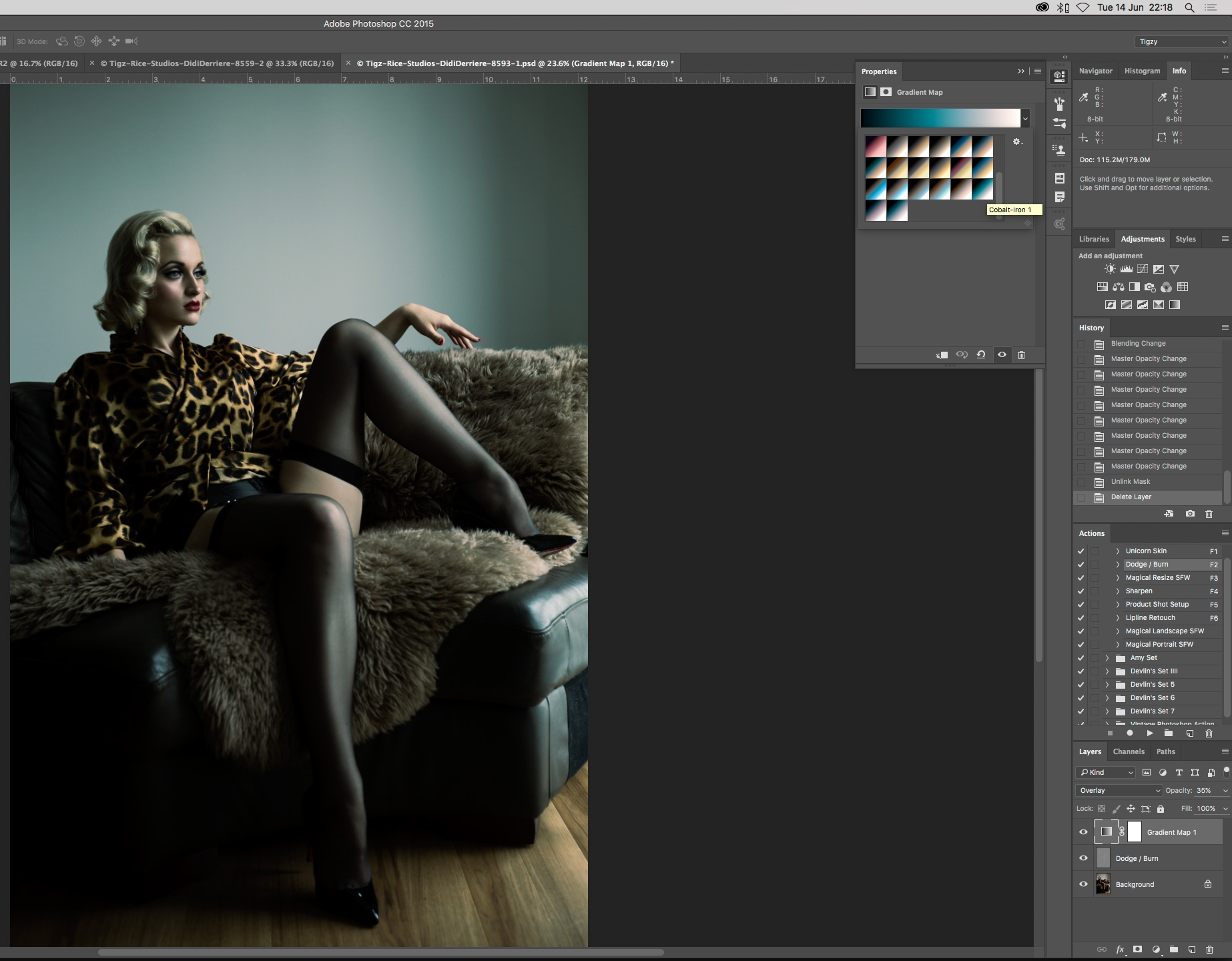 Photoshop tutorial: Give photos a glossy fashion look in the style