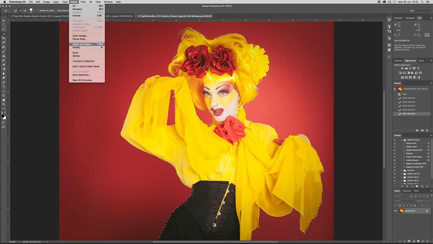 Photoshop tutorial: How to use the new Select and Mask tools in