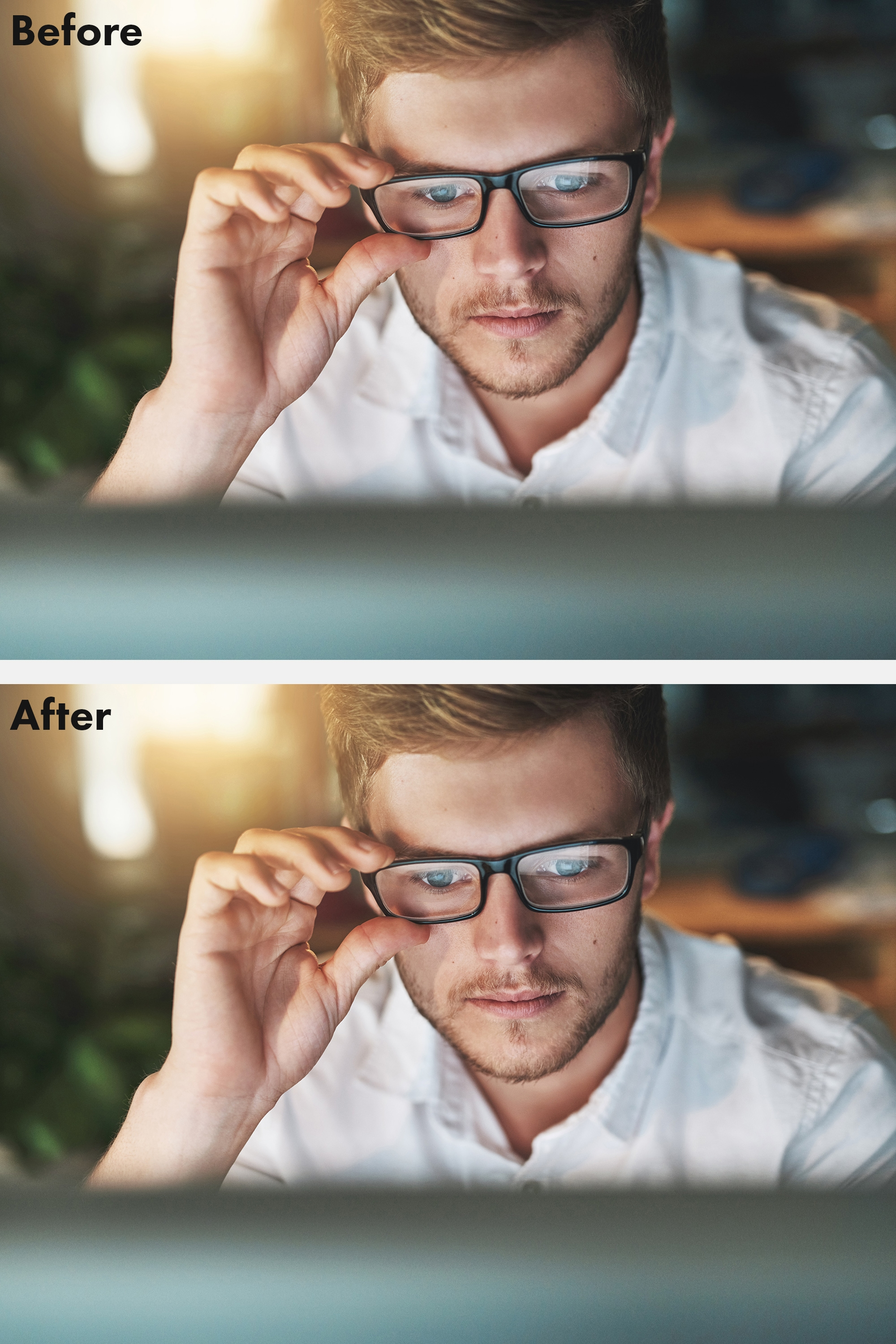 Photoshop tutorial: Use Face Aware Liquify to add smiles and change