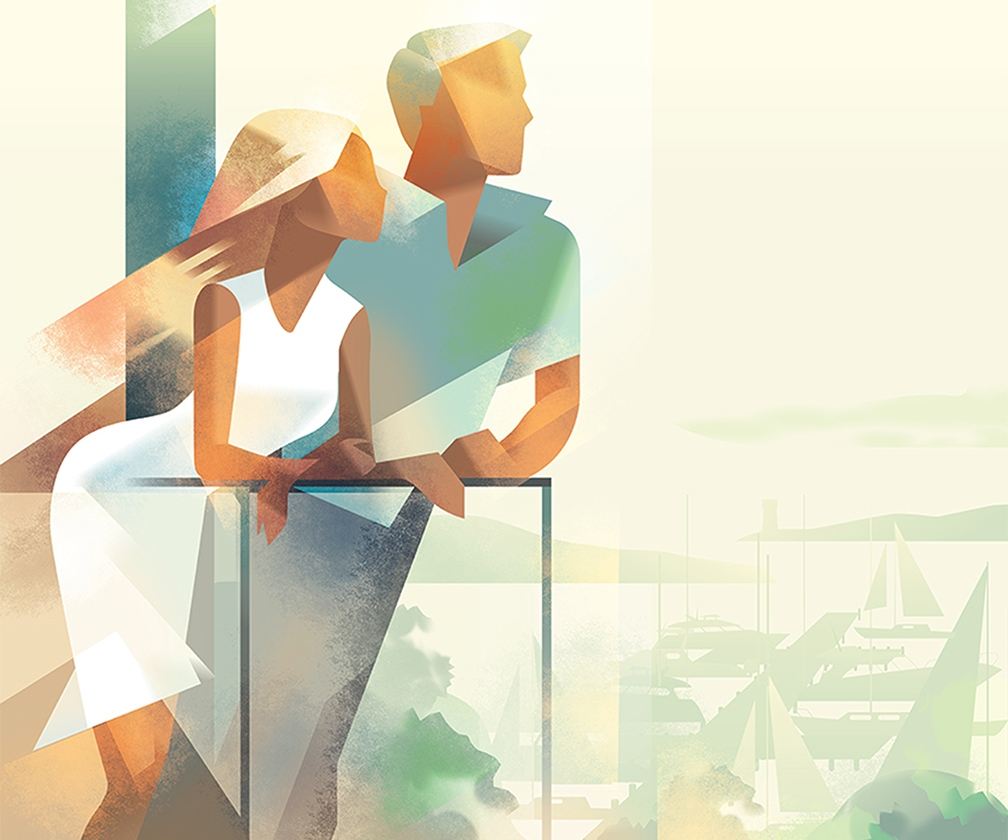 Celebrate Summer with these Stylish, Elegant Illustrations