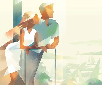 Get Ready for Summer with these Stylish, Elegant Illustrations