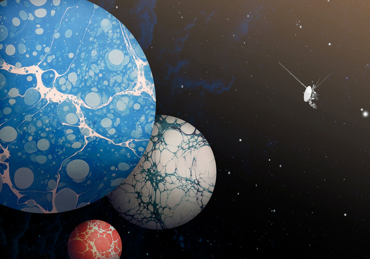 These Breathtaking, Beautiful Posters Imagine Planets made