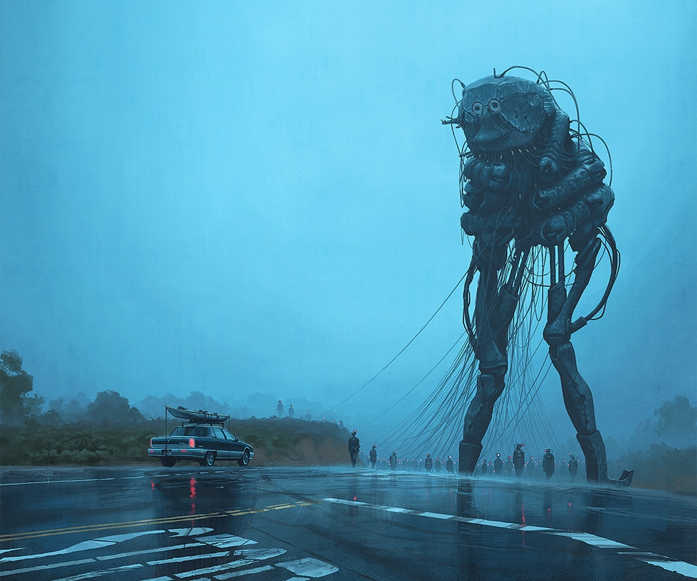 Simon Stålenhag: meet the artist behind Amazon Prime's mysterious new TV show