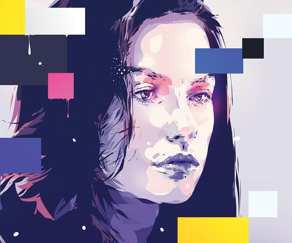 How to create vector portraits in Illustrator