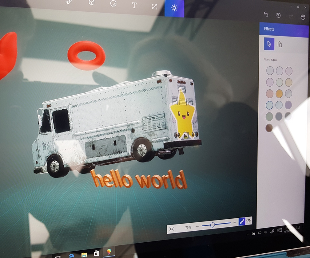 Hands-on with Microsoft Paint 3D
