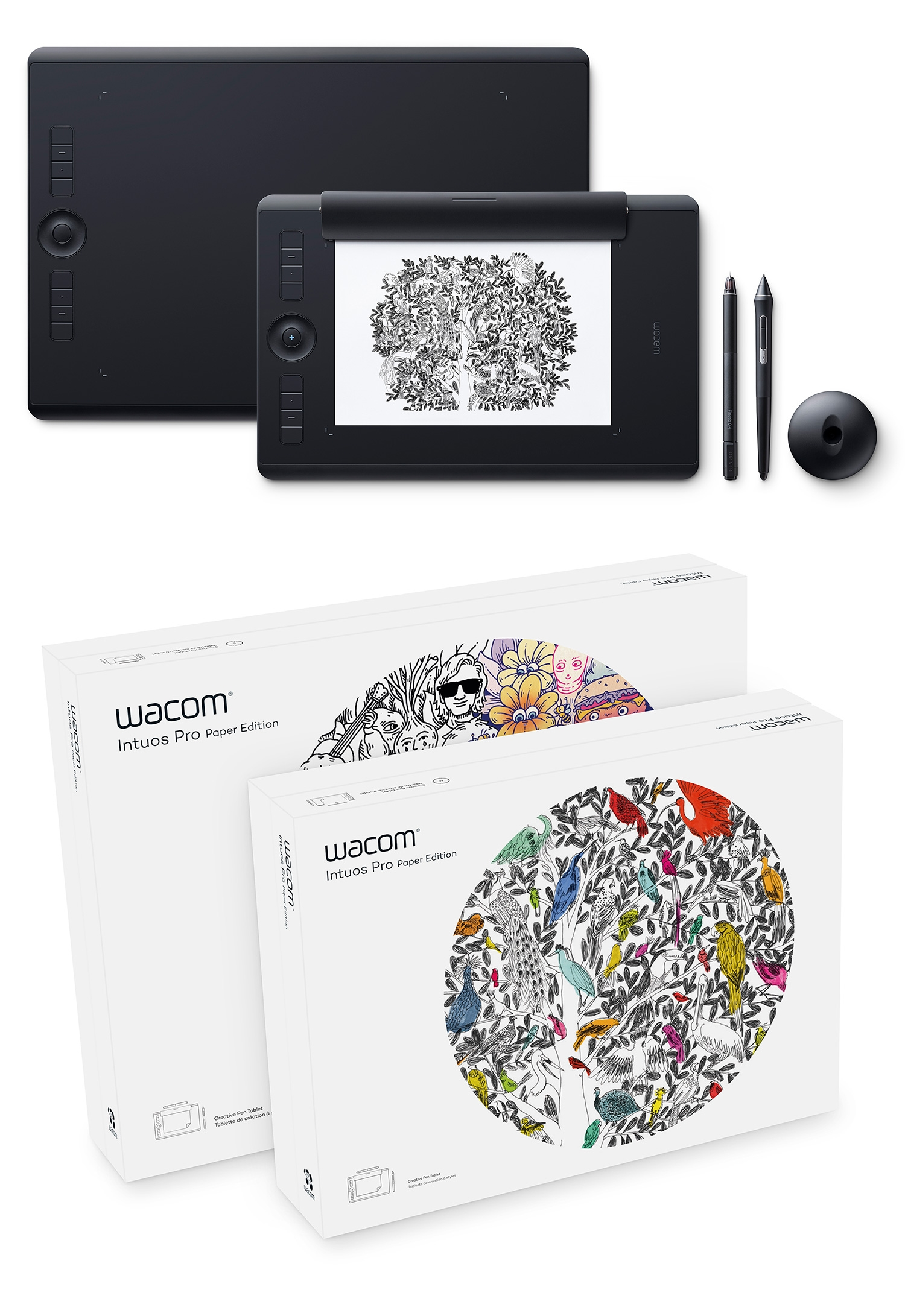 Wacom Has A New Intuos Pro Tablet And There S A Paper