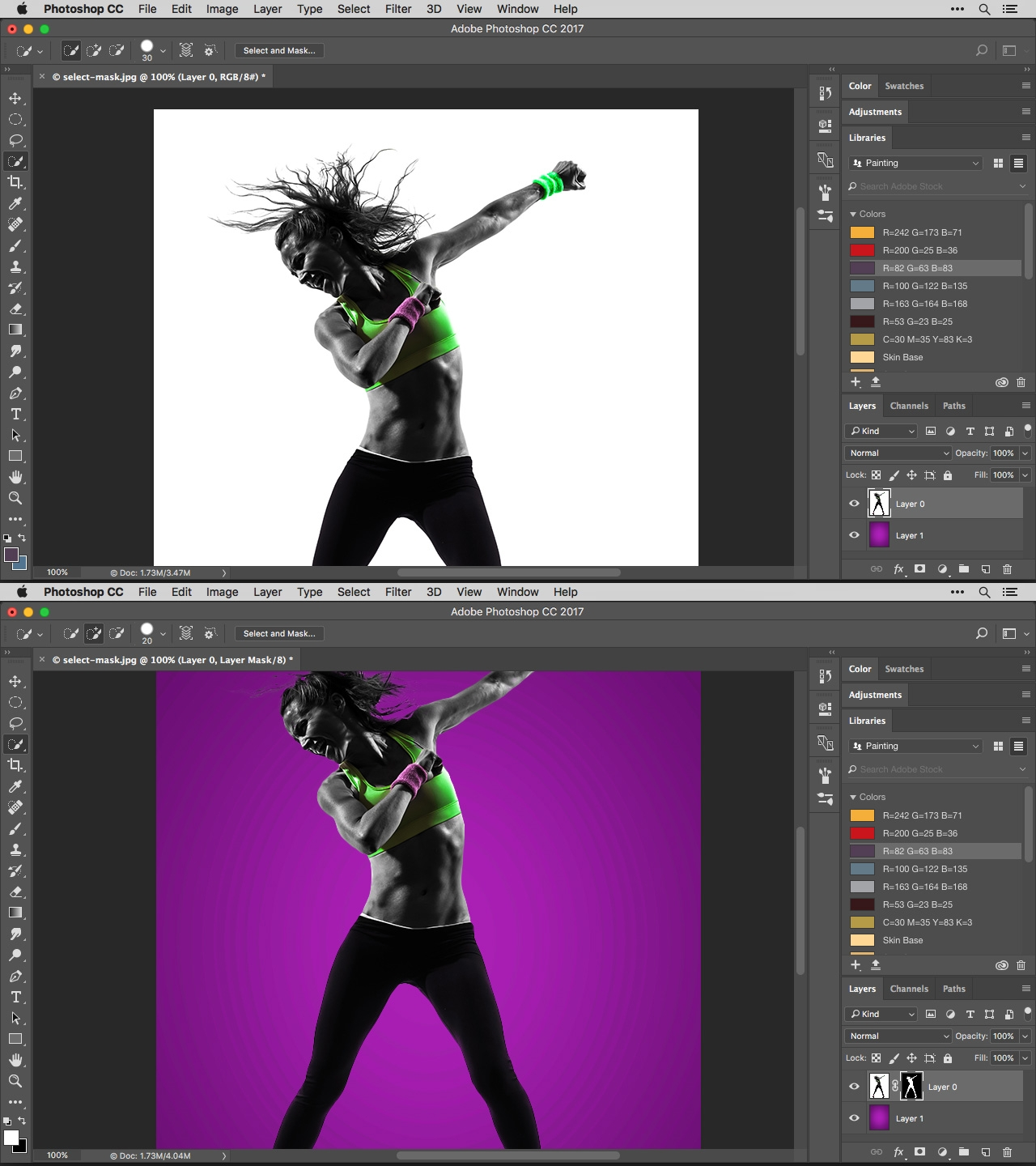 Master Photoshop's Select & Mask Workspace - Digital Arts