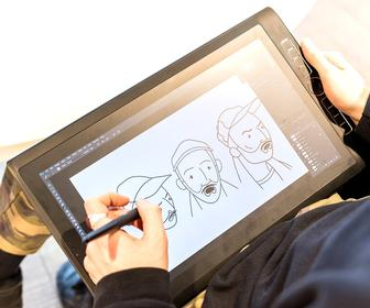 How designer Charles Bigeast from The Mill uses Wacom's MobileStudio Pro