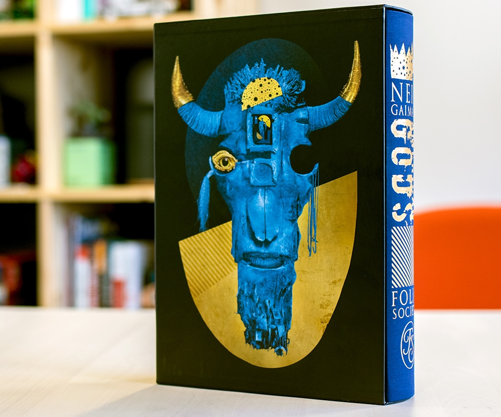 Interview: Dave McKean on illustrating a beautiful new hardback of Neil Gaiman's American Gods