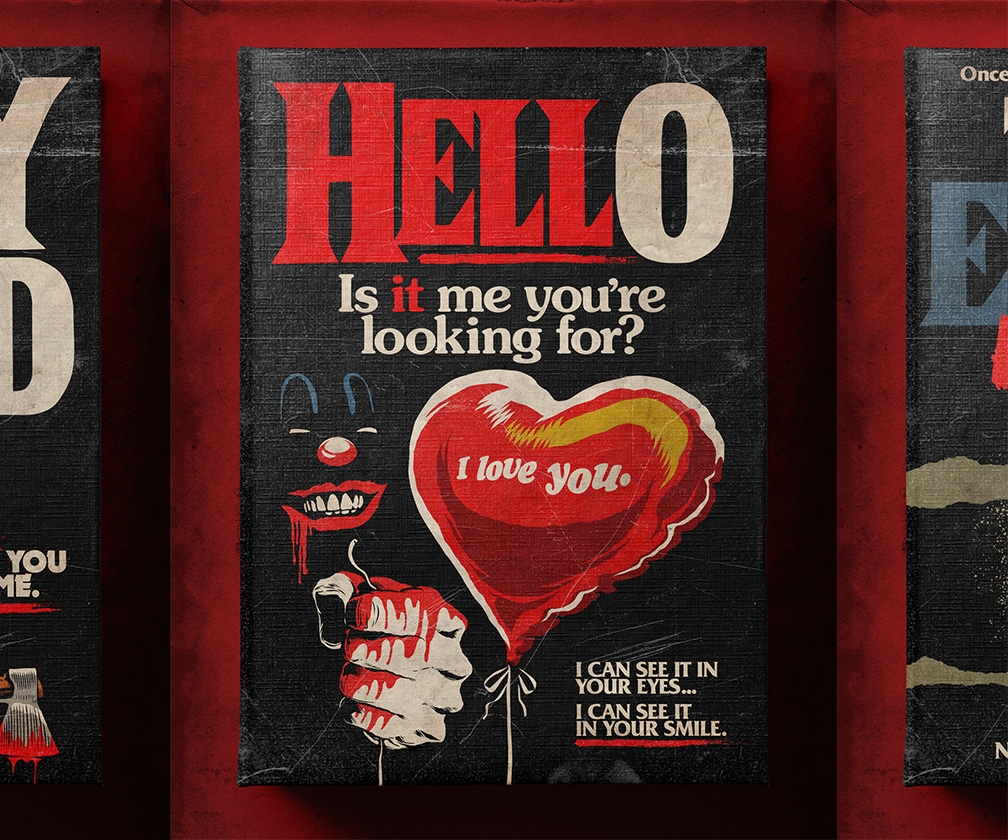 Interview: Artist Butcher Billy on creating those wildly popular, darkly funny horror novel covers based on 80s ballads