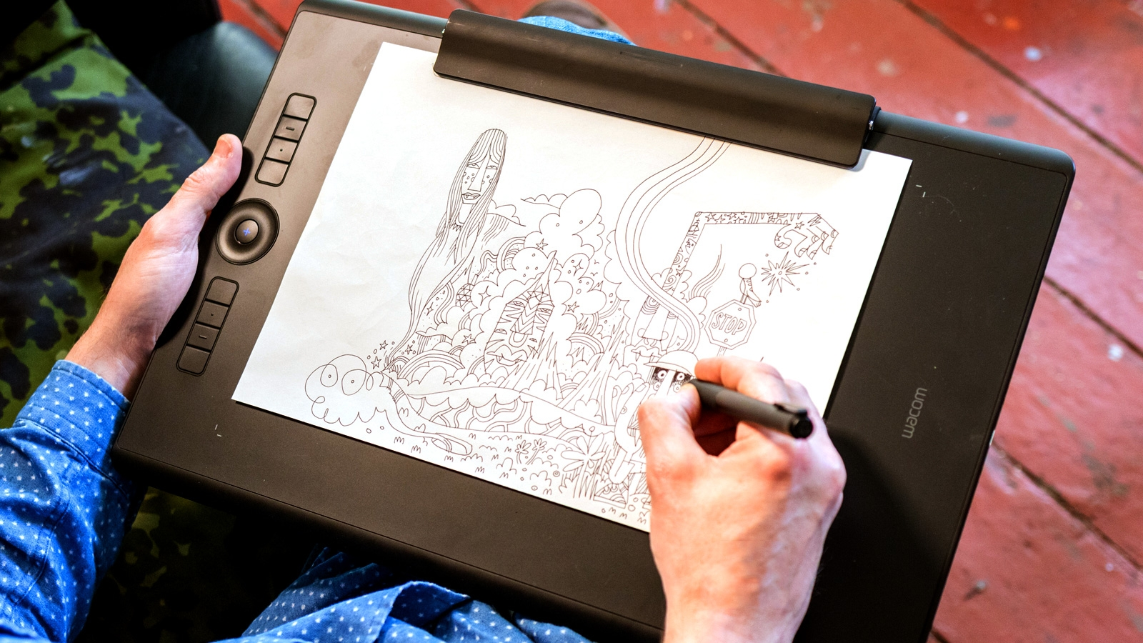 It is a graphic of Luscious Drawing Tablet Tutorial